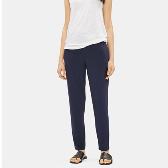 NWT SYSTEM VISCOSE JERSEY EASY PANT - Petite XS